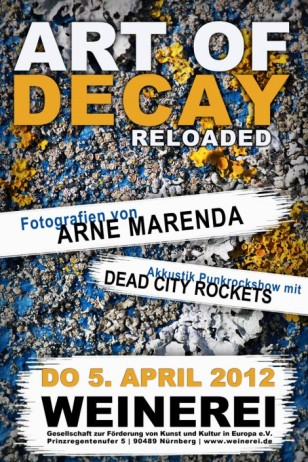 Flyer Art Of Decay Reloaded 2012