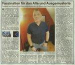 Kultourtipp in den Nürnberg Nachrichten