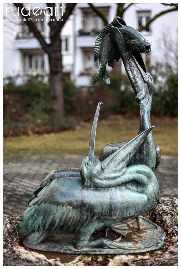 ehem. Pelikanbrunnen, Berliner Platz