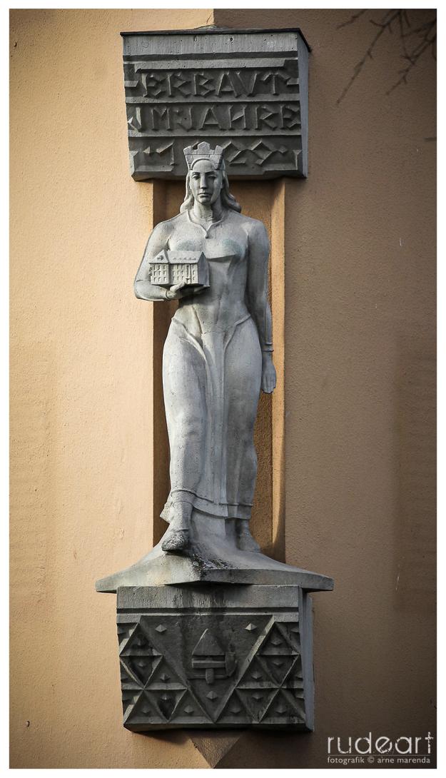 Die 'Erlangia' von Walter Bischoff, Rathenaustraße/Nürnbergersraße
