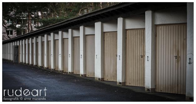 Garagen unweit der Siemens-Sportanlage