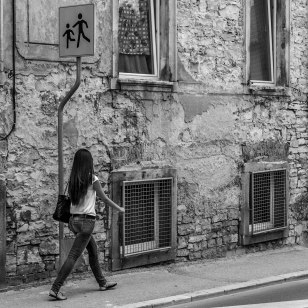 Streetwalk in Pula