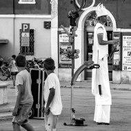 Streetartist in Rovinj
