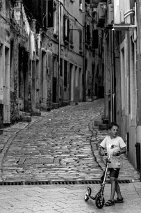 Rollerboy in Rovinj