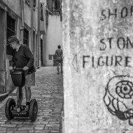 Stoned figures in Rovinj